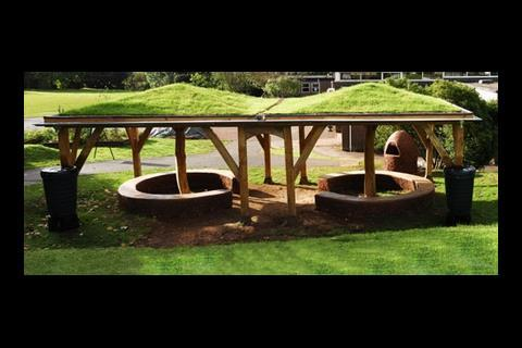 Landscore Primary School outdoor shelter